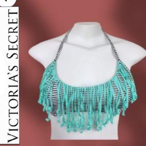 VICTORIA'S SECRET Feinge Sreipe Bikini Too NWOT